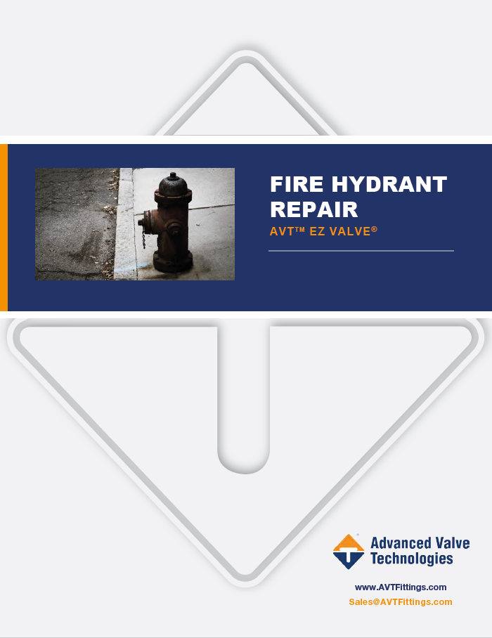 Fire Hydrant repair brochure front cover