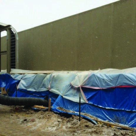 RenewWrap® FRP system to strengthen concrete columns