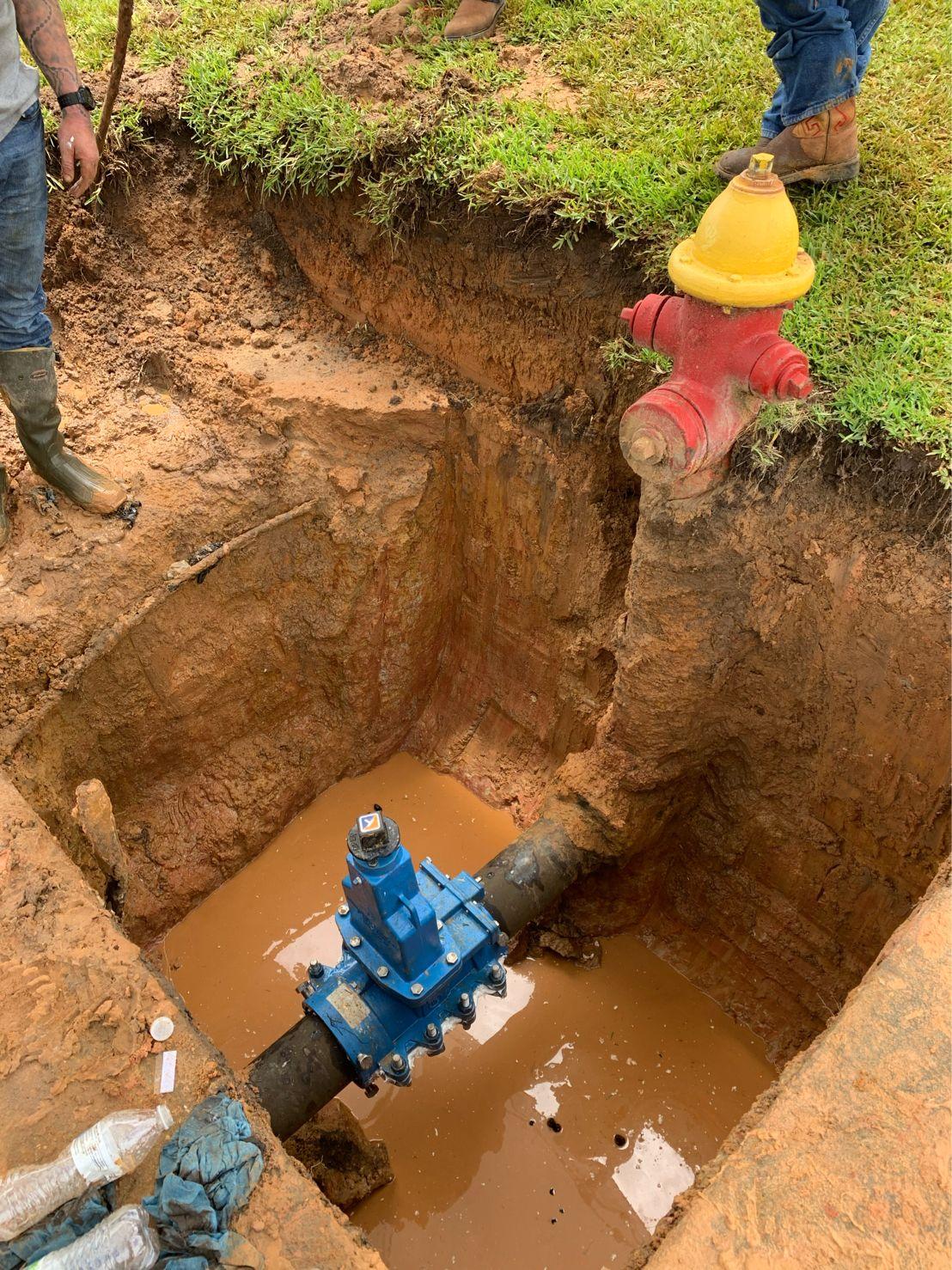 AVT EZ Valve isolates fire hydrant
