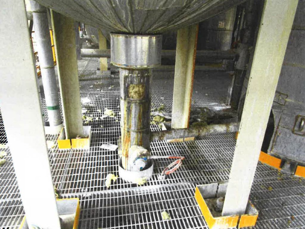 Contour Restores High Temperature Caustic Line