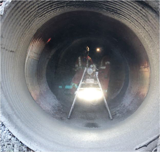 GeoSpray being installed