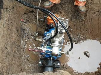 AVT Valve Repairs PVC Line