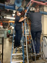 Steam & Process Repair's team ensuring the milling process runs smoothly