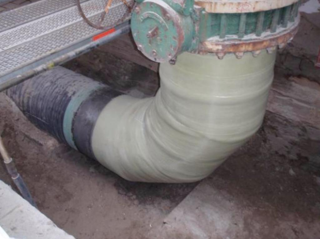 Contour Composite Pipe Repair
